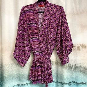 Josie by Natori Kimono Robe Coverup size XL